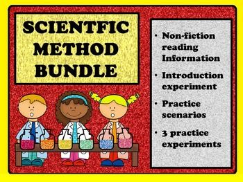 scientific method comprehension questions and