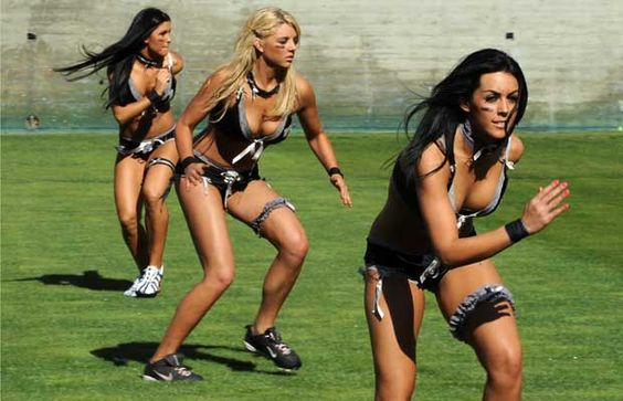 Lingerie Football. Women, playing American Football - in their undies... Whilst teenage boys may appreciate this, if we want equality for women, this should not be.