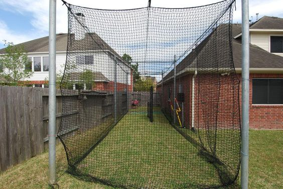 diy home indoor batting cage pictures to pin on pinterest pinsdaddy