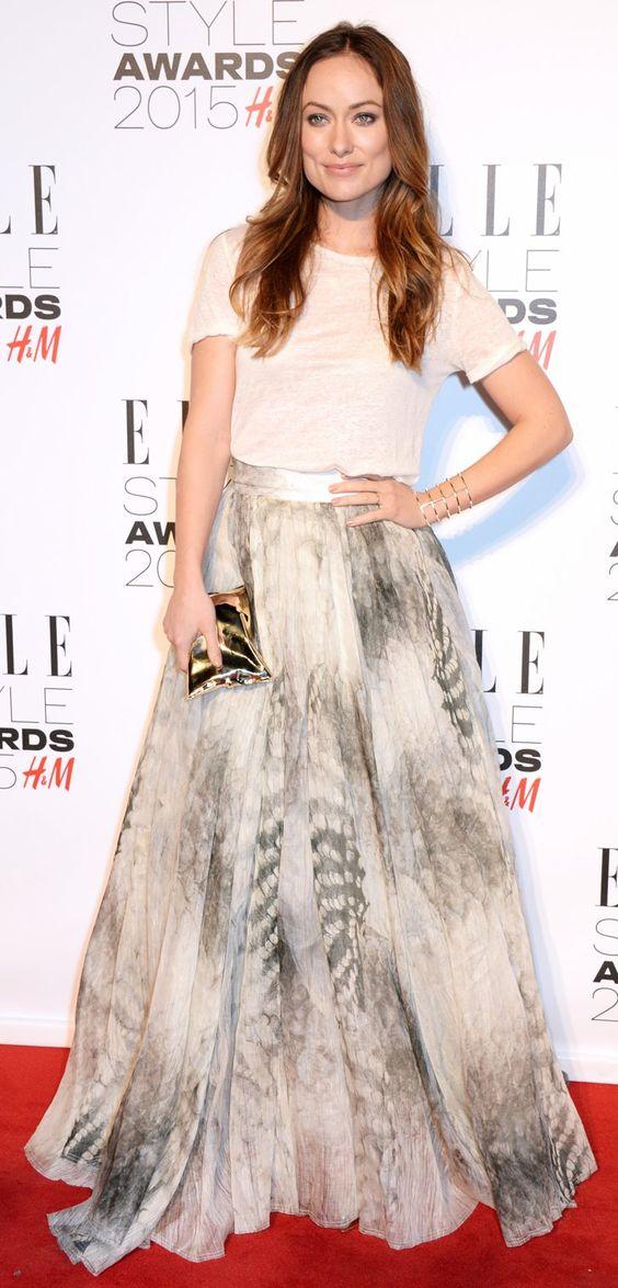 Pin for Later: Die Stars zeigen sich super sexy bei den Elle Style Awards
