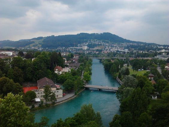 Hotel Bellevue - Bern , the view from the suite