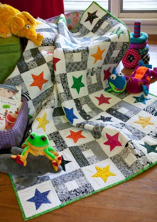 baby quilt.