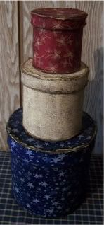 Fabric Covered Paper Mache Boxes    http://charsethman.blogspot.ca/2009/06/tuesdays-tutorial.html
