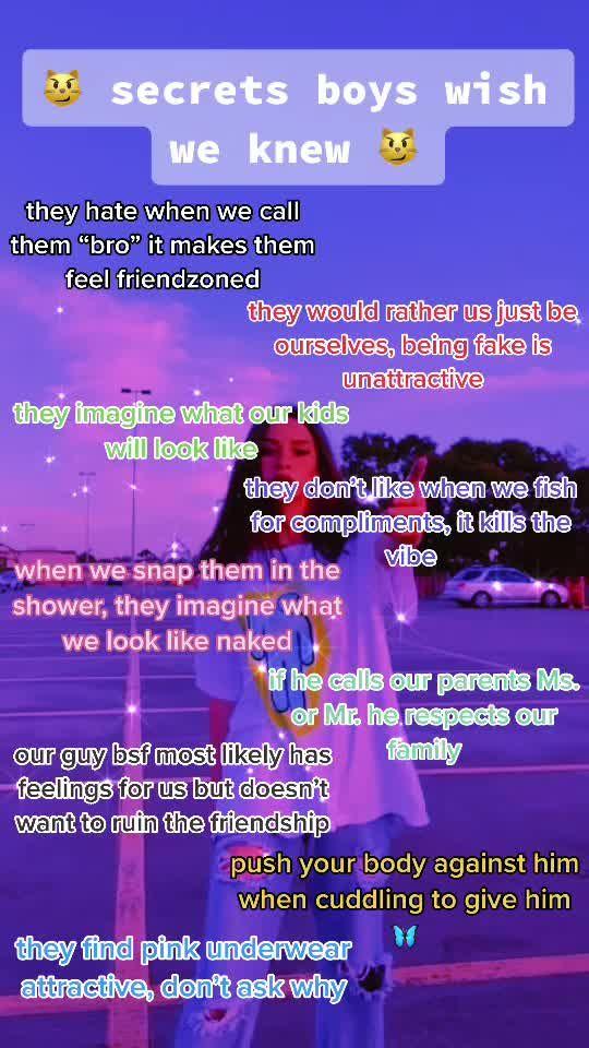 Baddie Tiktok Badd1etikok On Tiktok Part 2 Blow This Up Blowup Tips Boys Secret Expose Crush Advice Life Hacks Every Girl Should Know Baddie Tips