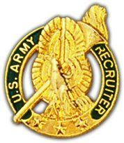 US Army Recruiter Lapel Pin by Army Lapel Pins. $4.29