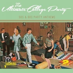 """The Ultimate College Party - 50s & 60s Party Anthems (2CD): Various Artists - propermusic.com  Can you resist the urge to get up and dance to the opener, Chris Montez's """"Let's Dance"""" followed by Bill Haley's unstoppable """"Rock Around the Clock""""? The remaining fifty-eight tracks take us through a wonderful journey of pop rock, rock & roll and romantic ballads from the likes of: Chubby Checker; Del Shannon; Johnny Preston; Little Richard; The Everly Brothers; The Beach Boys and more!"""