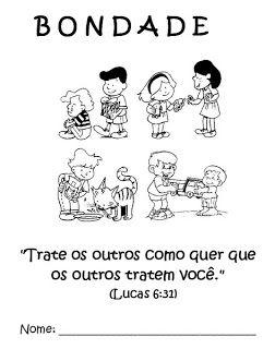 Atividades Biblicas Sobre O Fruto Do Espirito Santo Atividades
