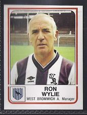 Ronald Wylie - West Bromwich Albion manager