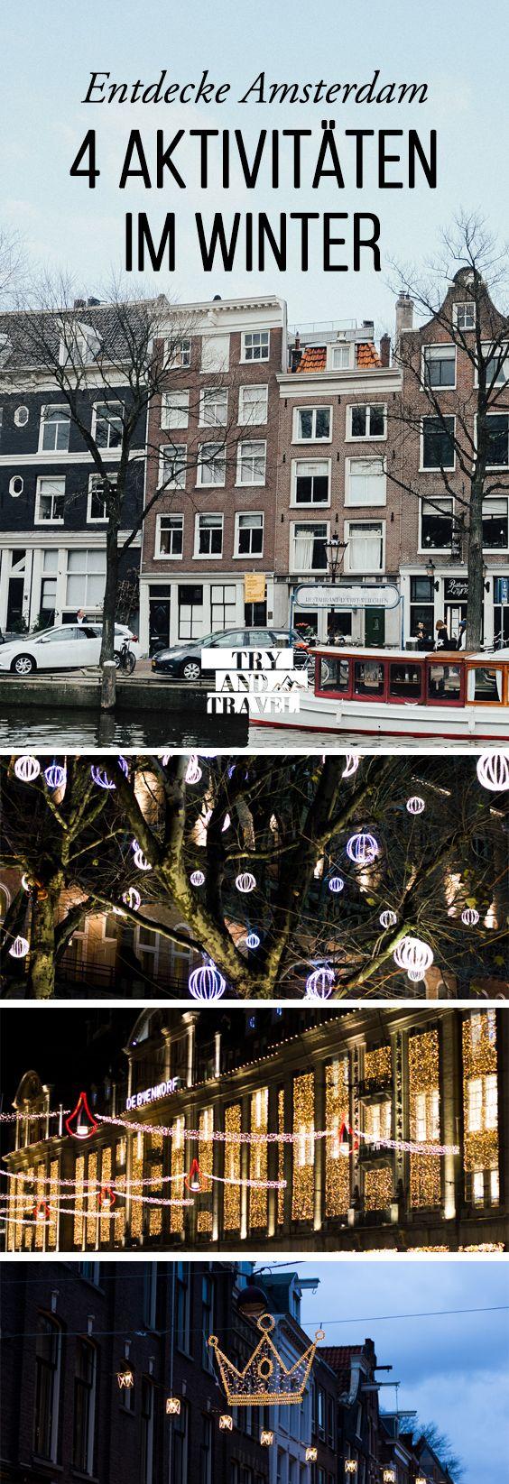 4 Dinge, die du in der Weihnachtszeit in Amsterdam unbedingt machen musst!