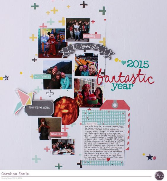 Fantastic Year - Scrapbook.com