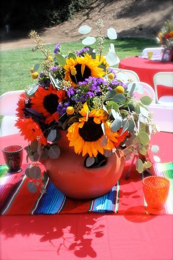 Mexicans Rustic And Centerpieces On Pinterest