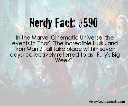 No wonder Fury has a bad attitude... He's got a lot of shit to put up with anyway... But all of that in a week! I'd be pissed and be like 'Guys stop destroying shit there are aliens that are going to do that.'