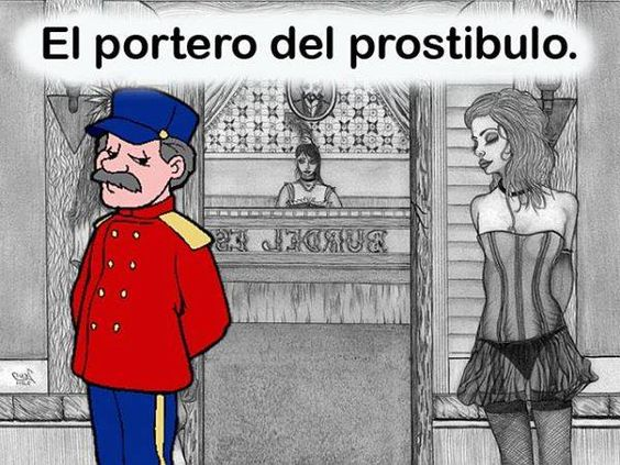 ☻Puntadas de cuento☺: El portero del prostíbulo