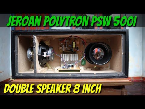 Kupas Jeroan Polytron Psw 500i Subwoofer Paling Di Cari Peel The Most Searched Subwoofer Innards Youtube Rangkaian Elektronik Elektronik Penyimpanan