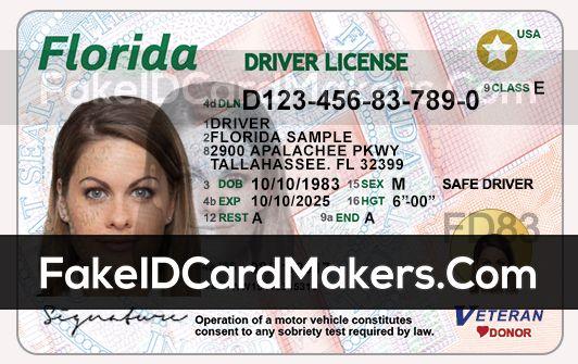 Florida Driver License Psd Id Card Template Drivers License Card Template