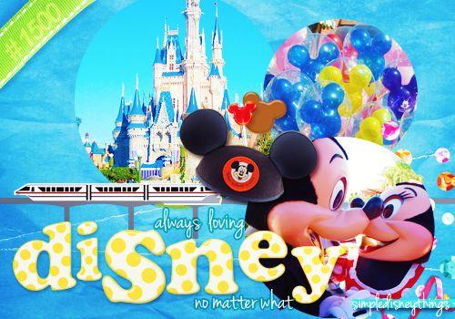 Always loving Disney