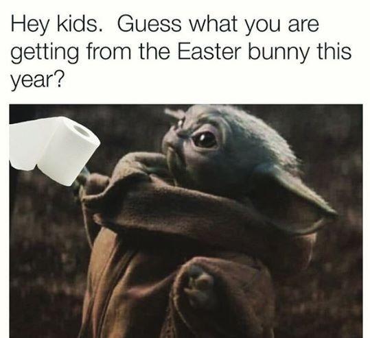 Pin By Daniel Barahona On Geek Pics For The Geek In Us All Yoda Meme Yoda Funny Easter Humor