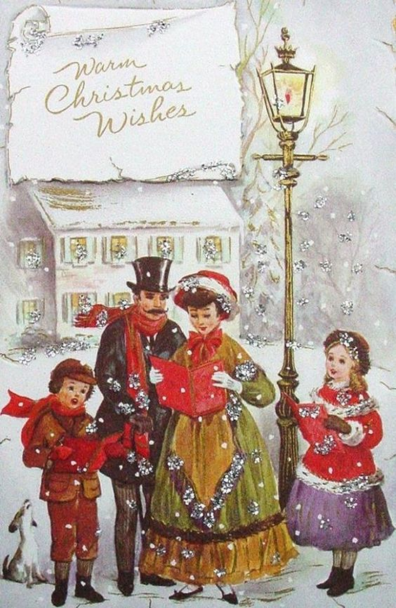 Песня рождественская открытка, картинки стену