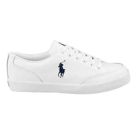 Shop for Mens Latton Casual Shoe by Polo Ralph Lauren in White Leather at Journeys Shoes