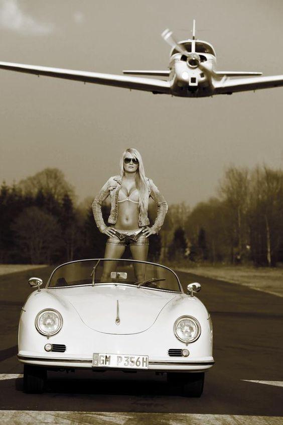 Porsche Blondes And Hot Girls On Pinterest