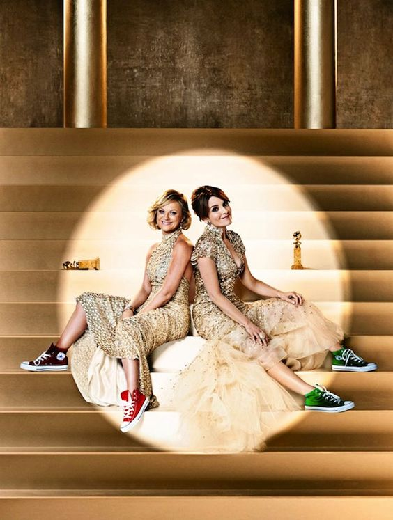 Tina Fey and Amy Poehler's Golden Globe ads