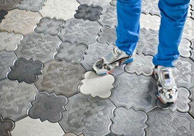 camelion floor tiles by Ivanka