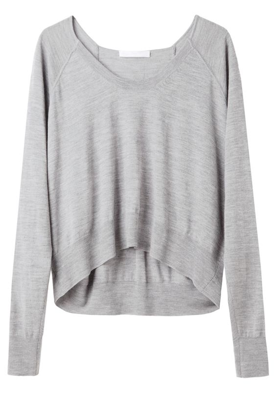 Alexander Wang  / Merino Cropped Pullover