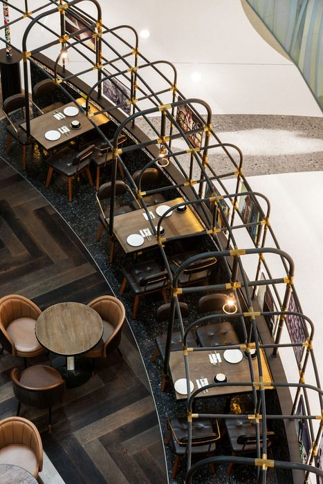 Asia restaurant hong kong and bar design on
