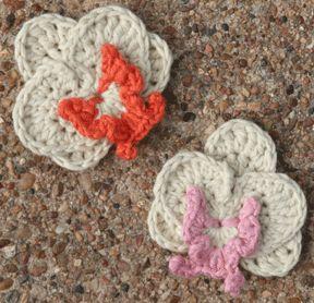 Crochet Flowers Orchid Tutorial