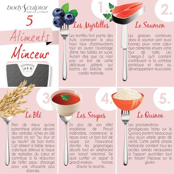 Ce n'est pas par hasard que « mincir » rime avec « plaisir ». Voici 5 aliments incontournables pour manger sain sans se priver !