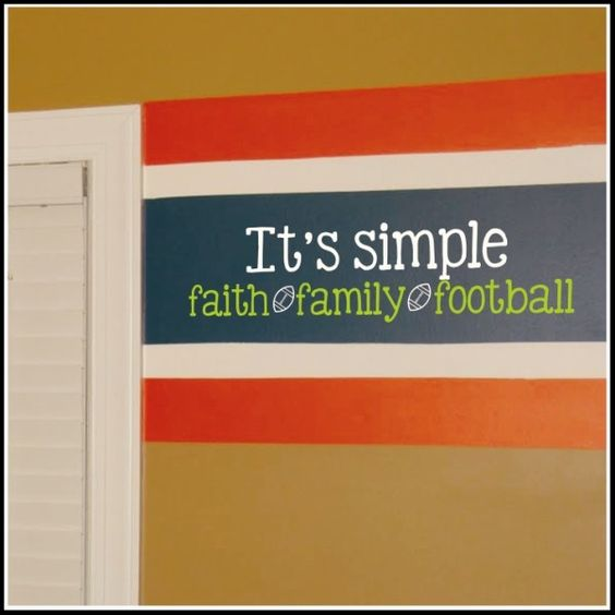 Football quotes, Faith and Families on Pinterest