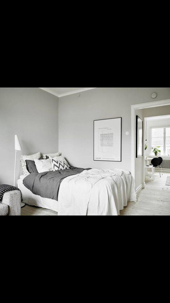 Soothing greys & whites