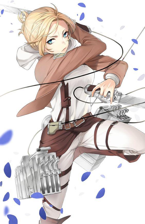 Shingeki no Kyojin - Annie by Naguri on deviantART
