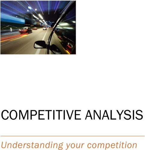 Competitive Analysis Template TemplatesForms Pinterest