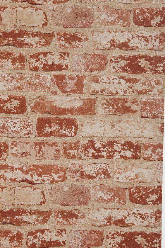 Brick Trompe L 39 Oeil Wallpaper Urban Outfitters Fake