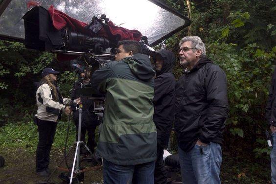 Robert Singer behind the scenes
