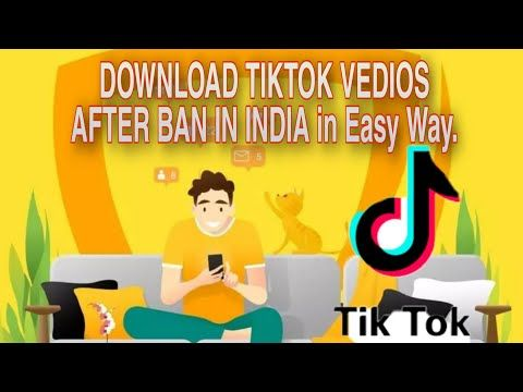 How To Download Tiktok Vedios After Ban In India Download Tiktok Private Vedios Youtube Tech Info Download Development