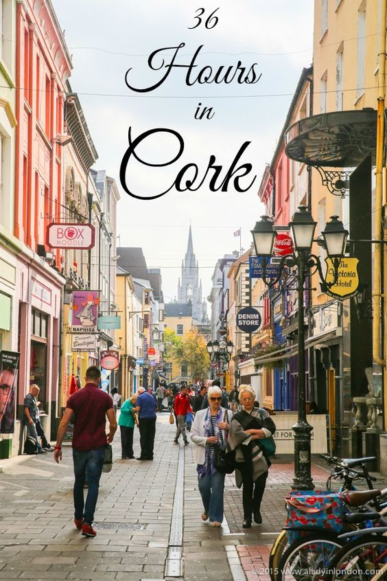36 Hours in Cork, Ireland! This city has a lot to see and do, from great pubs to live music and vibrant markets. Here's how to spend a weekend taking it all in!