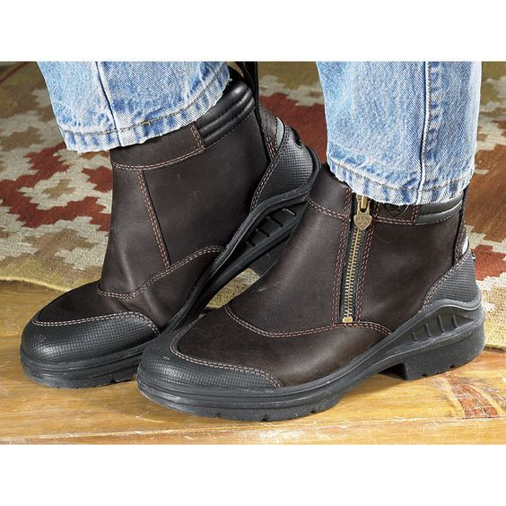 Ariat Barnyard Boots Dark Brown - Horse Themed Gifts, Clothing ...