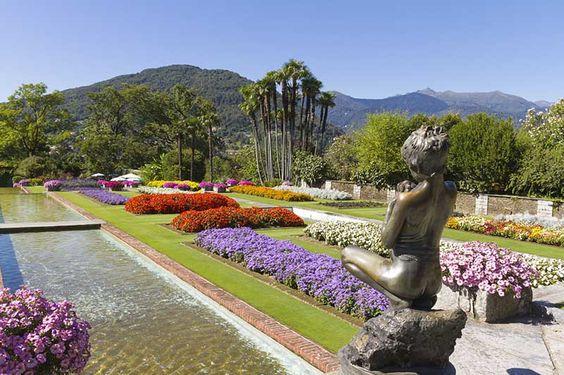 10 jardins colorés autour du monde | CHEZ SOI Photo: ©iStock #jardin #fleurs #couleurs #VillaTaranto #Italie