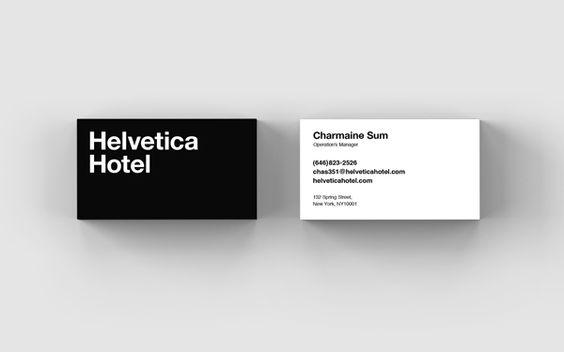 Designer imagina como seria 1 hotel inspirado na fonte Helvetica, veja aqui