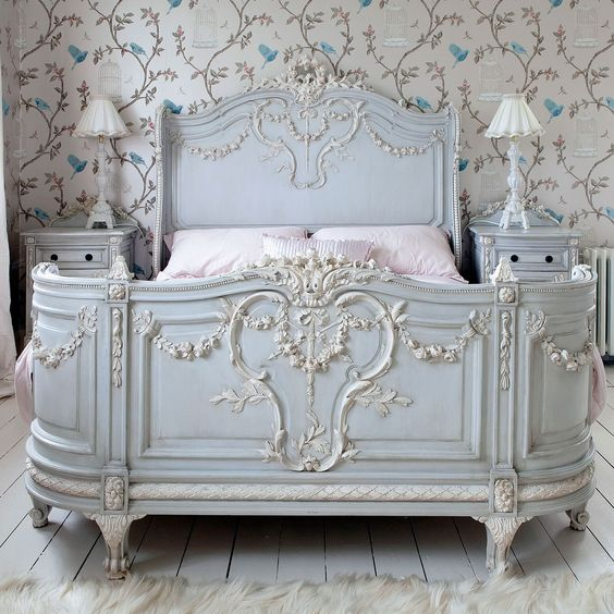Bonaparte French Bed by The French Bedroom Company - love everything about this !
