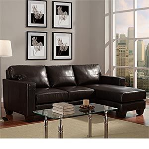 Leather sectionals Costco and Couch on Pinterest