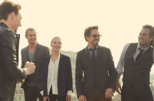 some of the avengers cast