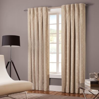 Curtains Ideas bed bath and beyond drapes and curtains : Buy Designer's Select Claudia Inverted Pleat Window Curtain Panels ...