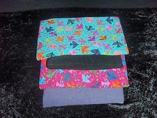 Stoffpaket Jersey Türkis Pink Vögel Uni Pflaume Schwarz