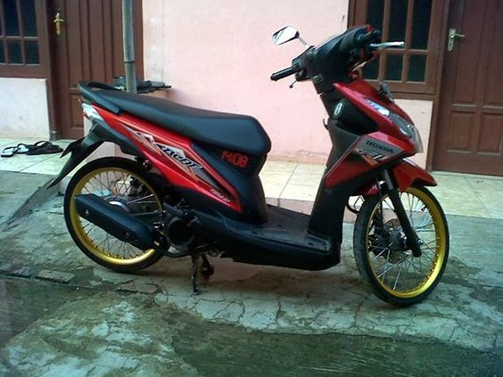 modifikasi honda beat f1 terkeren