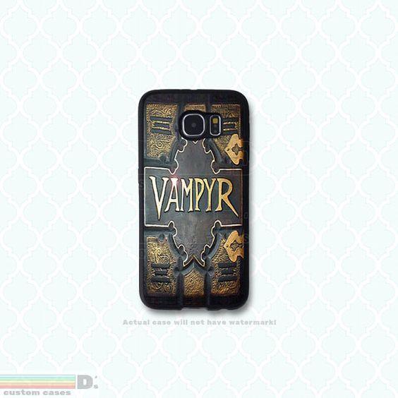Vampyr, Buffy Inspired, Custom Phone Case for Galaxy S4, S5, S6