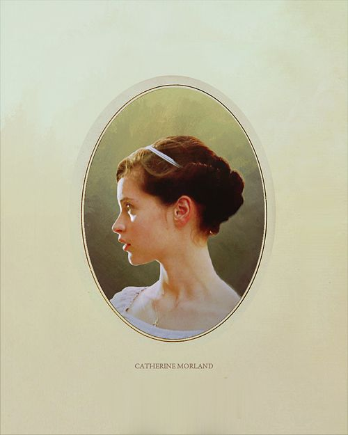Austen Heroines: Felicity Jones, Catherine Morland - Northanger Abbey directed by Jon Jones (TV, 2007) #janeausten: