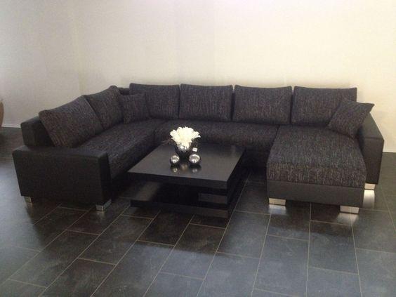 Sofa U COuch Wohnlandschaft SOFORT LIEFERBAR Versand 89 ...